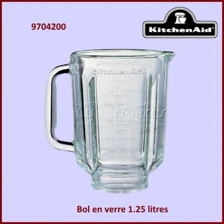 Bol Blender 1.25 l en Verre Kitchenaid 9704200