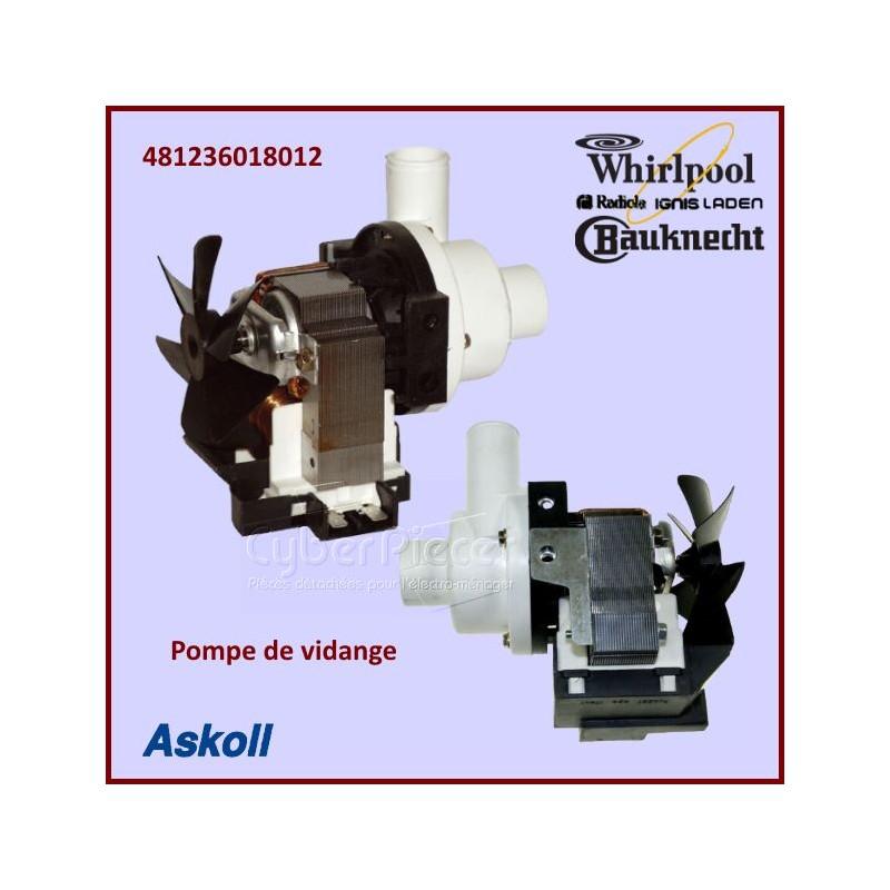 Pompe De Vidange Whirlpool 481236018012