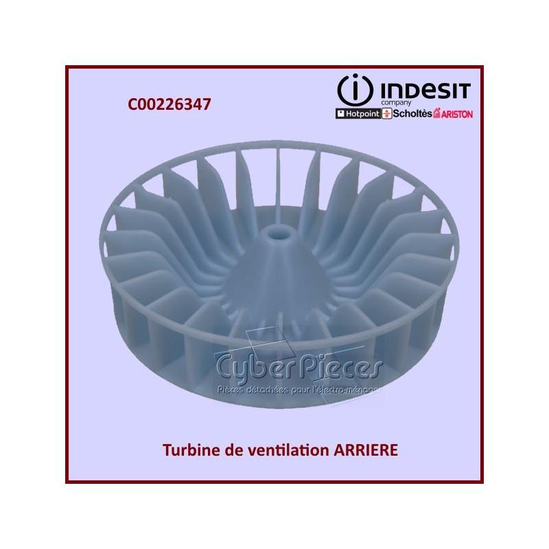 Turbine de Ventilation ARRIÈRE Indesit C00226347