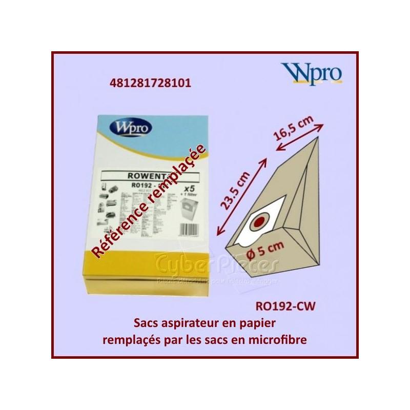 Sac aspirateur microfibre RO192-CW  Rowenta