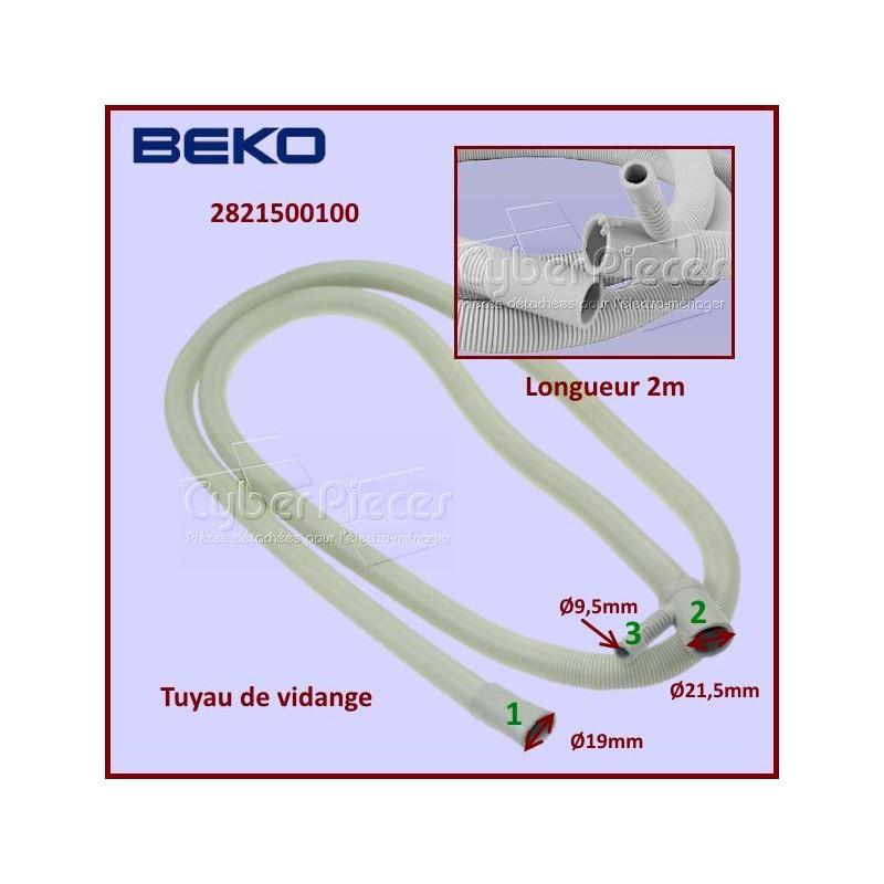 Tuyau de vidange BEKO 2821500100