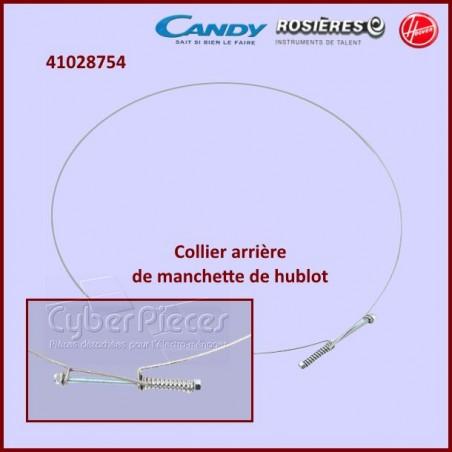 Cerclage arrière de manchette de cuve Candy 41028754