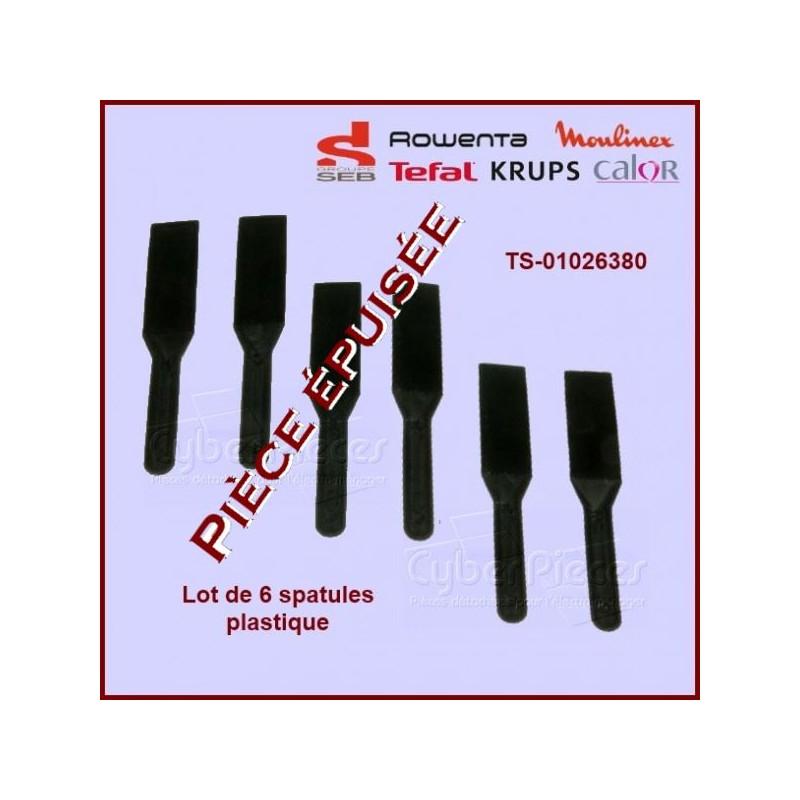 Lot de 6 spatules en plastique SEB TS01026380***Pièce épuisée***