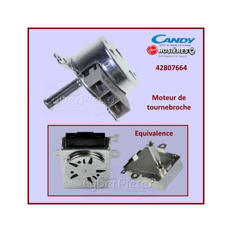 Moteur tourne broche Candy 42807664