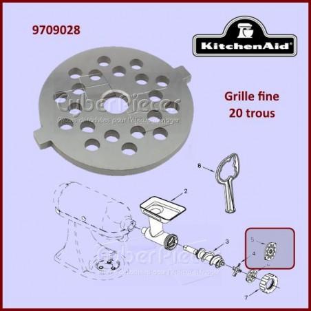 Grille fine Kitchenaid FGA 9709028