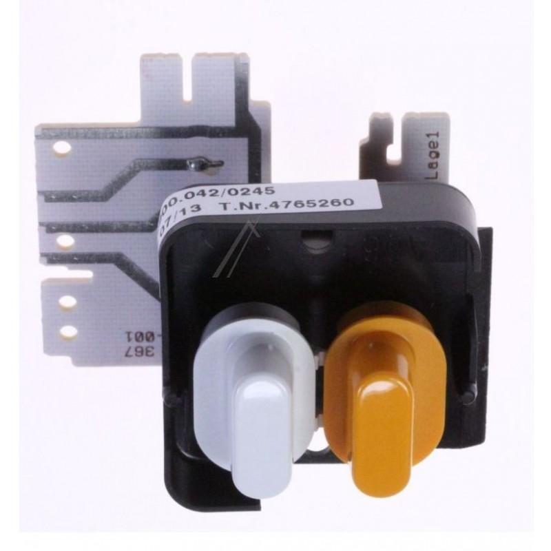 Interrupteur a poussoir MIELE 4765260