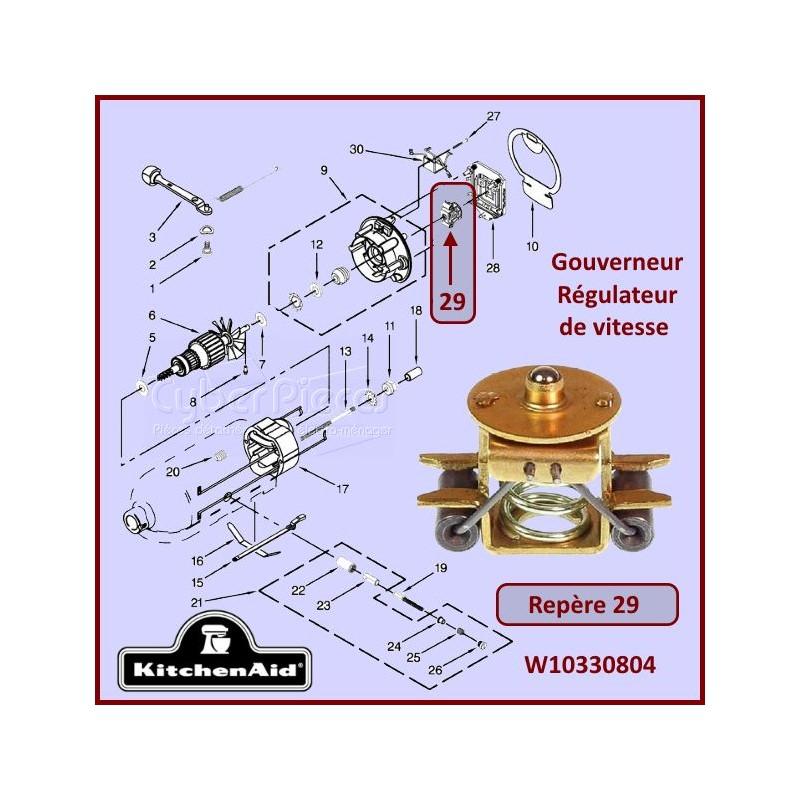 Gouverneur W10330804 Kitchenaid (4159675)