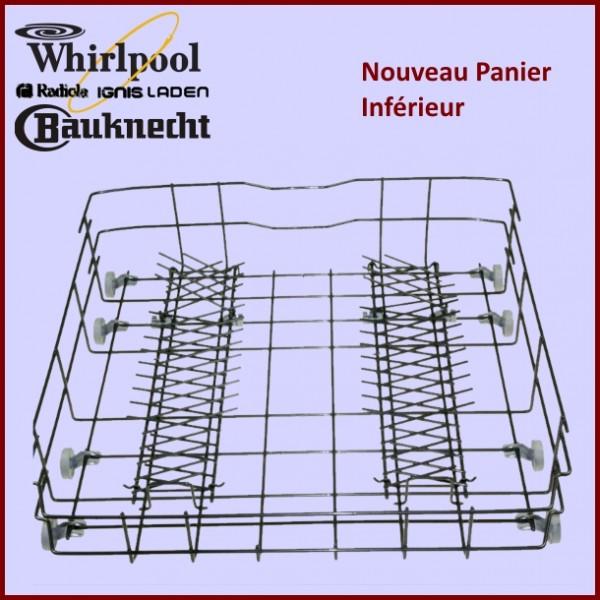 panier inferieur whirlpool 484000000299 pour lave vaisselle lavage pieces detachees electromenager. Black Bedroom Furniture Sets. Home Design Ideas