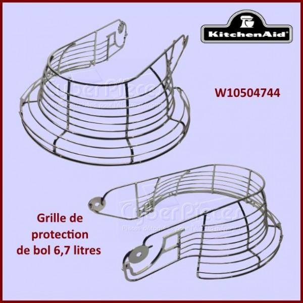 grille de protection de bol kitchenaid w10504744 pour. Black Bedroom Furniture Sets. Home Design Ideas