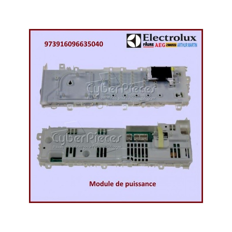 module configur electrolux 973916096635040 pour seche. Black Bedroom Furniture Sets. Home Design Ideas