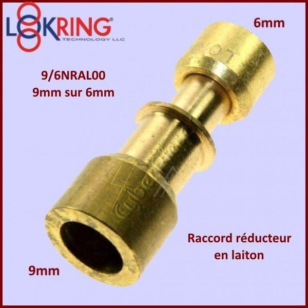 Raccord réducteur LOKRING 9/6NRMS00 en laiton
