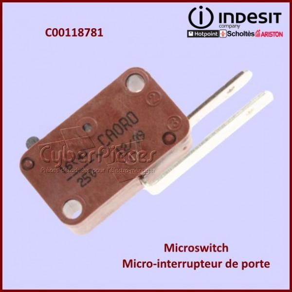 Micro-interrupteur Indesit C00118781