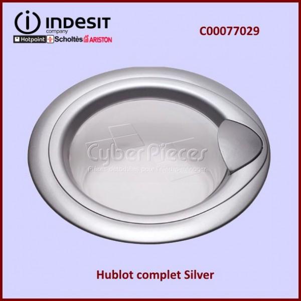 Hublot Complet Gris Silver Indesit C00077029