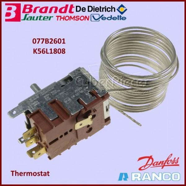 Thermostat 077B2601 - K56L1808 Brandt 45X0770