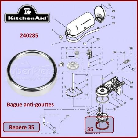 Bague anti-gouttes Kitchenaid 240285