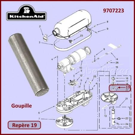 Goupille Kitchenaid 9707223