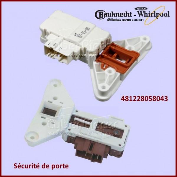 Sécurité de porte Whirlpool 481228058043