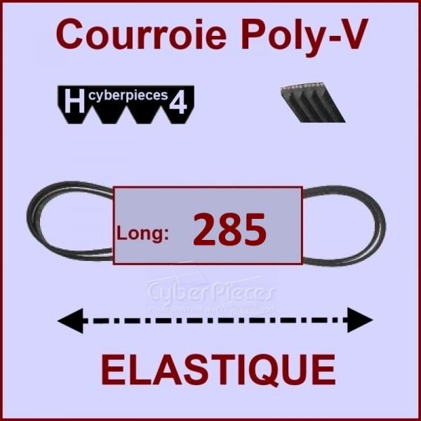 Courroie 285 H4 Elastique Beko 491500303