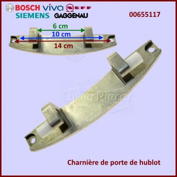 Charnière de hublot Bosch 00655117