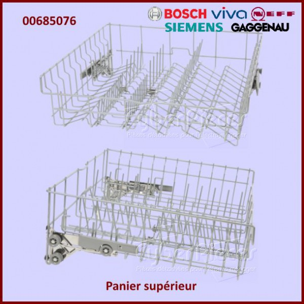 panier sup rieur bosch 00685076 pour lave vaisselle lavage pieces detachees electromenager. Black Bedroom Furniture Sets. Home Design Ideas