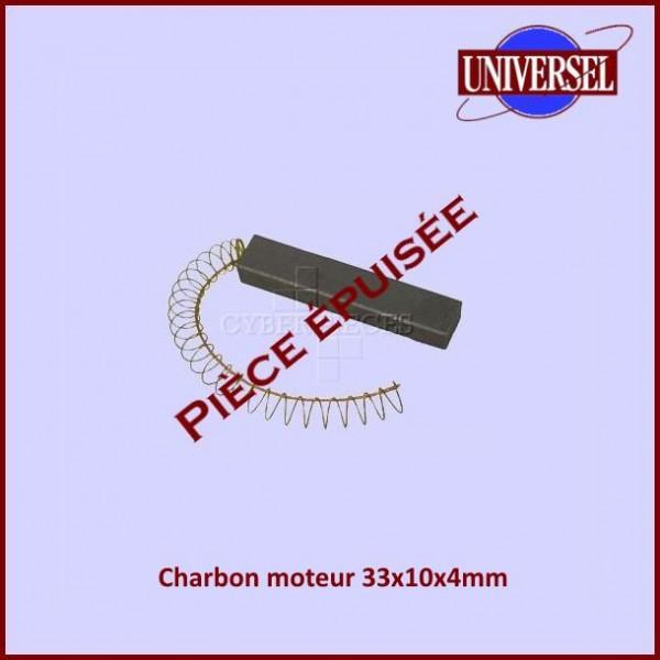 Charbon moteur 33x10x4mm ***Pièce épuisée***