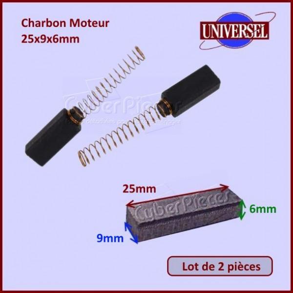 Charbon Moteur 25x9x6mm