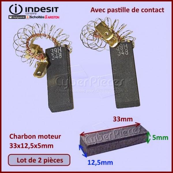 Charbon moteur 33x12,5x5mm - C00202407