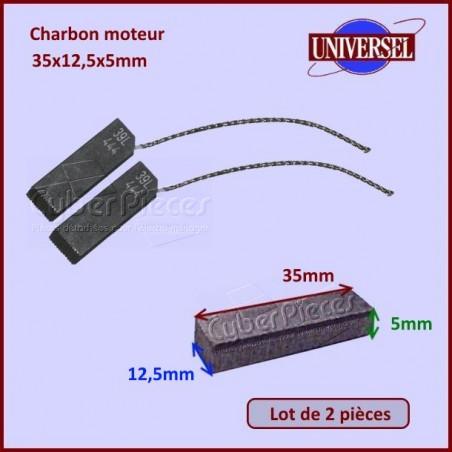 Charbon moteur 35x12,5x5mm