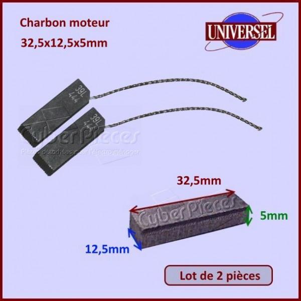 Charbon moteur 32,5x12,5x5mm Bosch 00021521