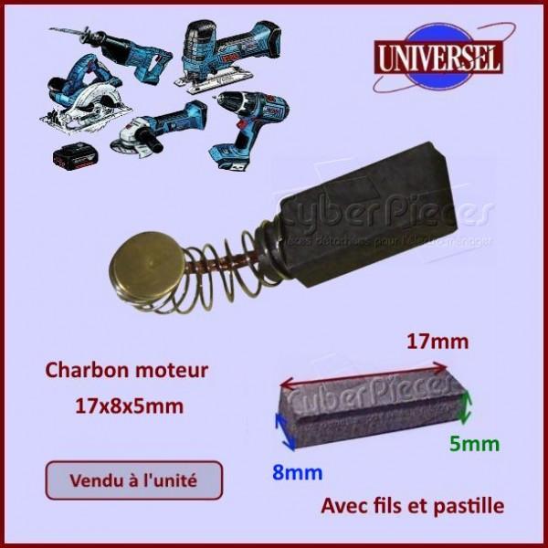 Charbon moteur 17x8x5mm 1617014114