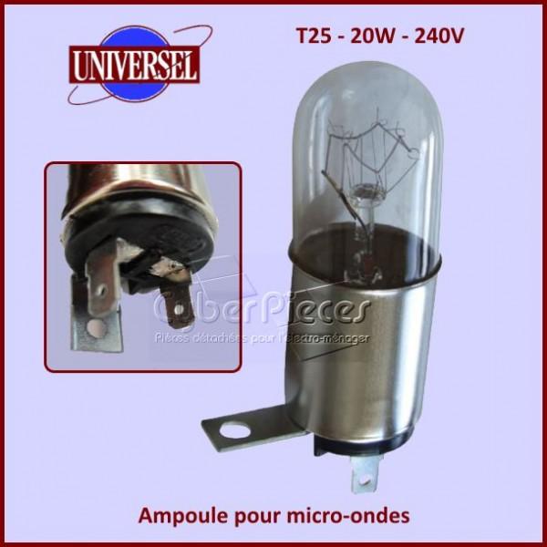 Ampoule pour micro-ondes T25 - 20W - 240V