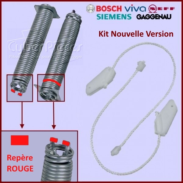 Kit ressorts + câbles de porte Bosch 00754866