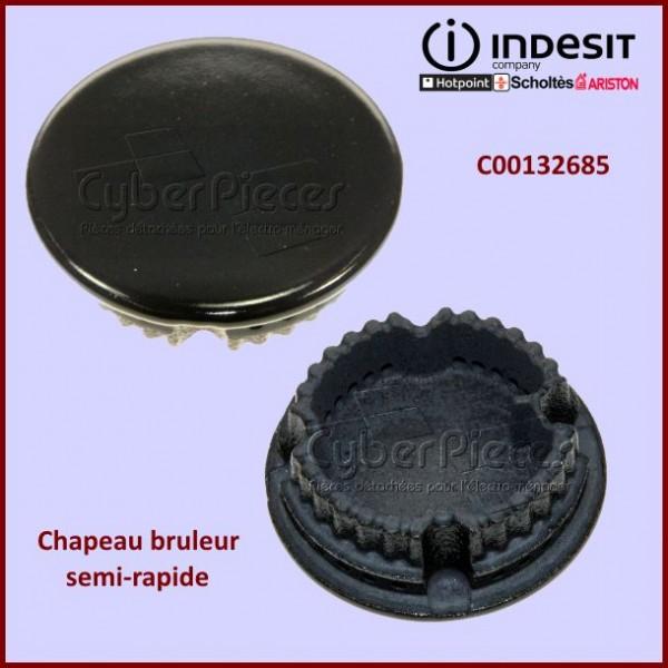 Chapeau brûleur semi-rapide C00132685