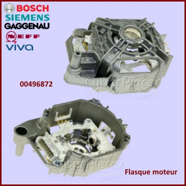 flasque moteur bosch 00496872 pour machine a laver lavage pieces detachees electromenager. Black Bedroom Furniture Sets. Home Design Ideas