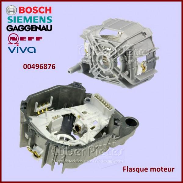 flasque moteur bosch 00496876 pour machine a laver lavage pieces detachees electromenager. Black Bedroom Furniture Sets. Home Design Ideas