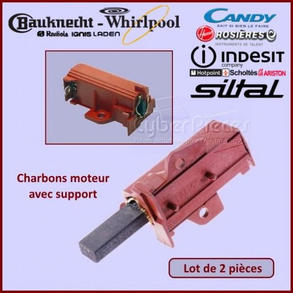 Charbon moteur avec support 32x12,5x5mm / L1-2