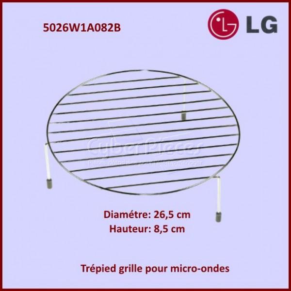 Trépied Hauteur 8,5cm - Grille Support Inox Ø26,5cm