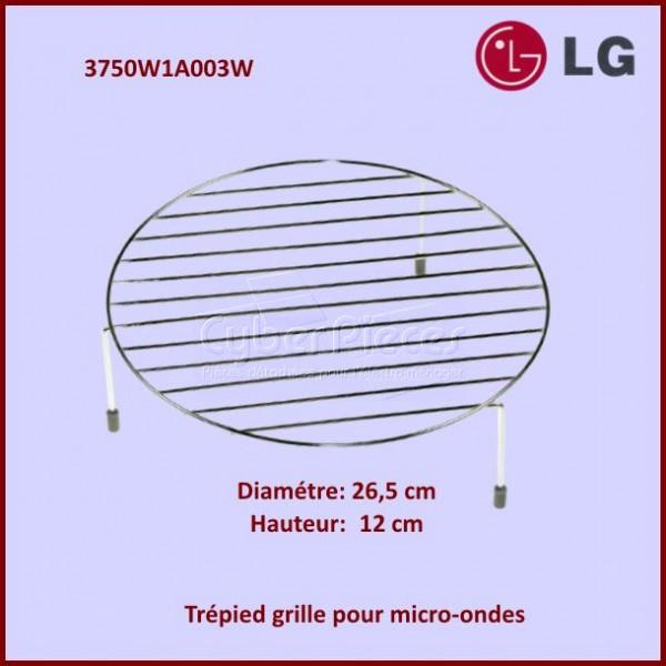 Trépied Hauteur 12cm - Grille Support Inox Ø27cm
