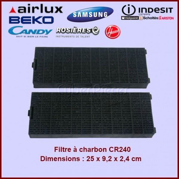 Filtre à charbon CR240 AIRLUX - ACM26