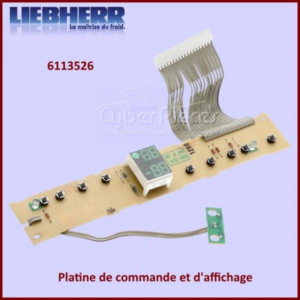 Platine de commande et d'affichage Liebherr 6113526