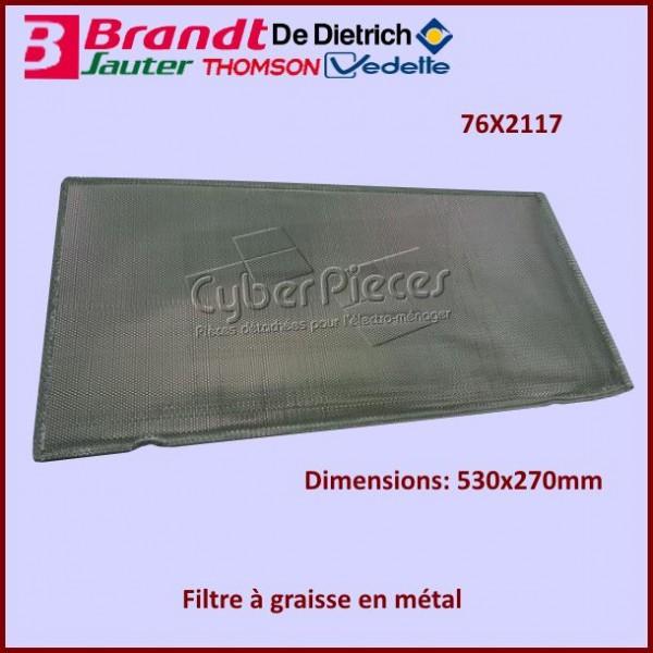 Filtre à graisse en métal Brandt 76X2117