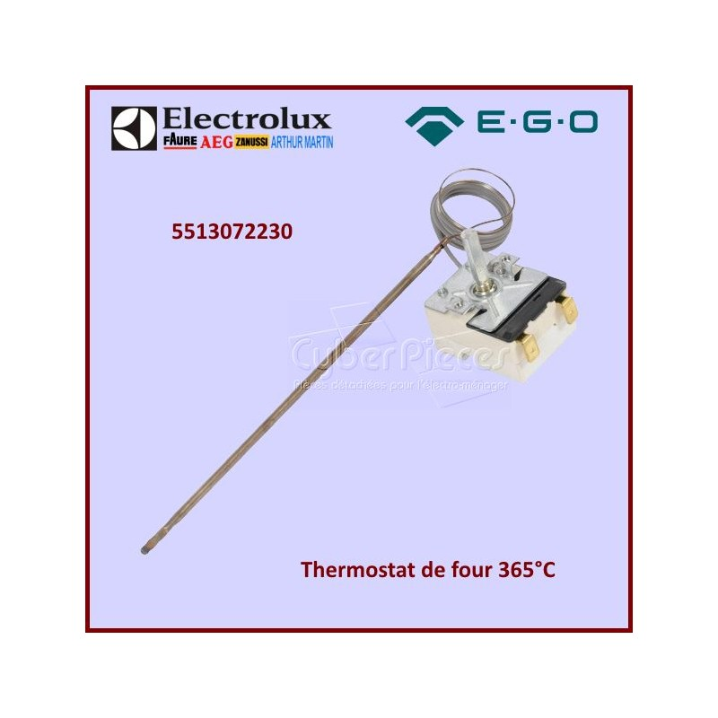 Thermostat de four 62 à 385°  EGO 5513072230