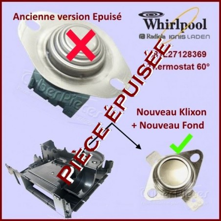 Thermostat façade 60°- 481227128369***Pièce épuisée***