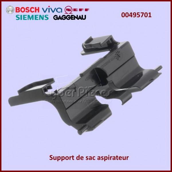 support pour sac aspirateur bosch 00495701 pour aspirateur petit electromenager pieces detachees. Black Bedroom Furniture Sets. Home Design Ideas