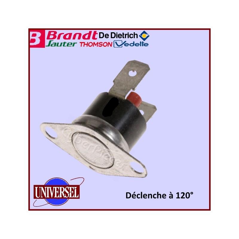 Limiteur T°  Réarmable  120° 76x5214