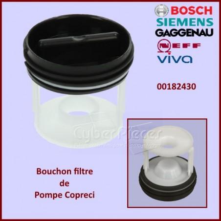 Bouchon filtre de pompe Copreci Bosch 00182430