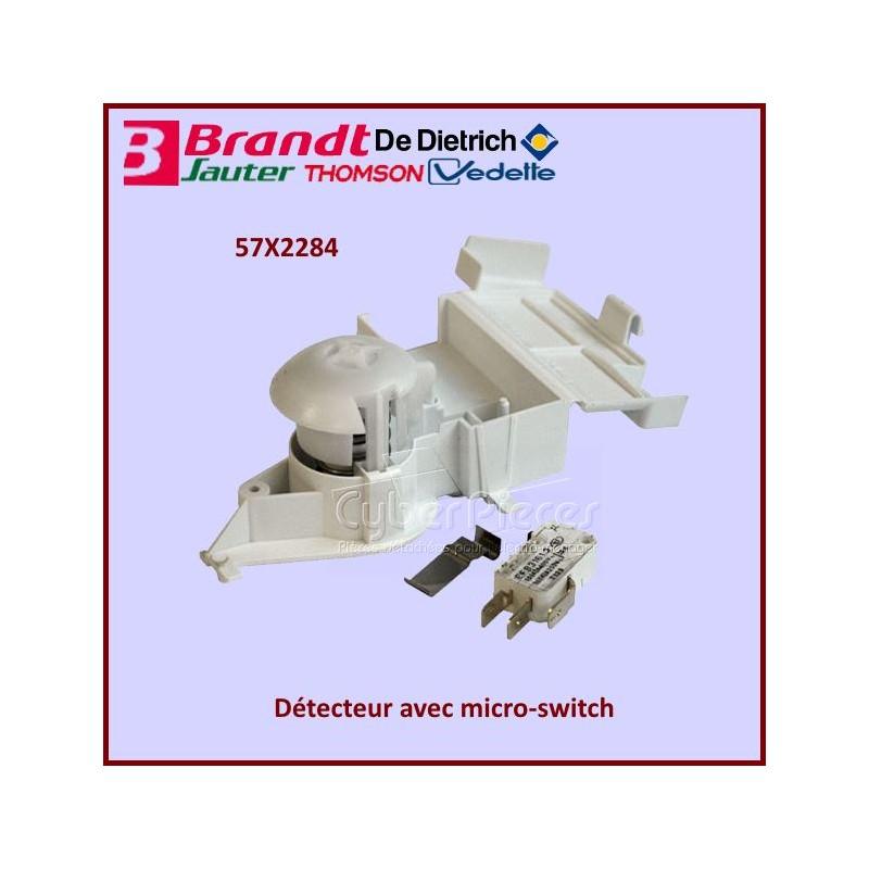 Détecteur avec micro switch Brandt 57X2284