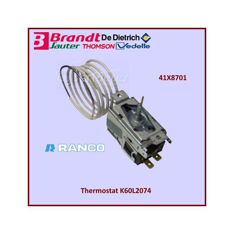 Thermostat K60L2074 Brandt 41X8701