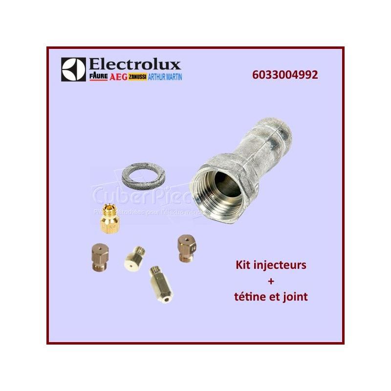 Injecteurs gaz de ville + tétine 6033004992