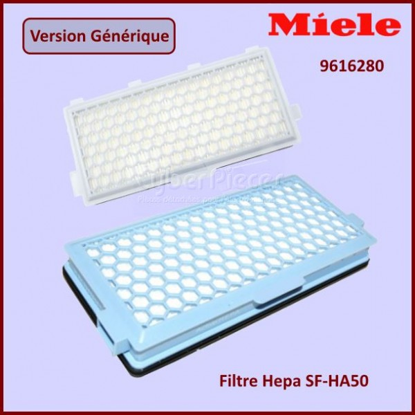 Filtre HEPA SFAH50 MIELE 9616280 - Version adaptable